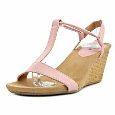 Style & Co. Womens Mulan2 Open Toe Special Occasion Strappy Sandals, Pink Latte