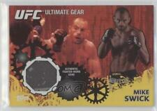 2010 Topps UFC Series 4 Ultimate Gear Relic Gold #UG-MS Mike Swick MMA Card