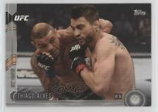 2015 Topps UFC Chronicles Silver #25 Thiago Alves Rookie MMA Card