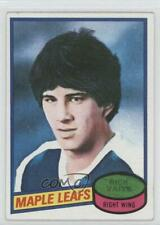 1980-81 Topps Scratched 242 Rick Vaive Toronto Maple Leafs RC Rookie Hockey Card