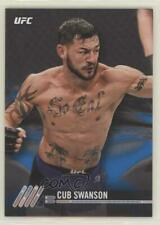2017 Topps UFC Knockout Blue #92 Cub Swanson MMA Card
