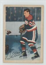 1953-54 Parkhurst #84 Gerry Couture Chicago Blackhawks Hockey Card