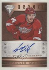 2012-13 Panini Rookie Anthology #22 Gustav Nyquist Detroit Red Wings Auto Card