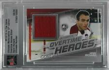 2012-13 In the Game Ultimate Memorabilia 12th Edition #HERI Henri Richard Card