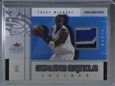 2003-04 Fleer Genuine Insider Article Jerseys Patch #GAP-TM Tracy McGrady Card