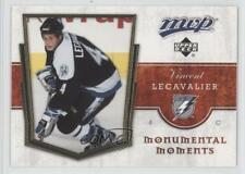 2007-08 Upper Deck MVP Monumental Moments #MM12 Vincent Lecavalier Hockey Card