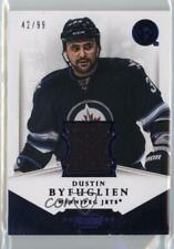 2013 Panini Dominion Authentic Material Jersey D-BY Dustin Byfuglien Hockey Card