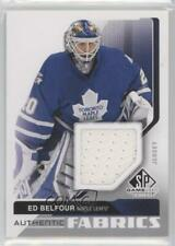 2014-15 SP Game Used Authentic Fabrics AF-EB Ed Belfour Toronto Maple Leafs Card