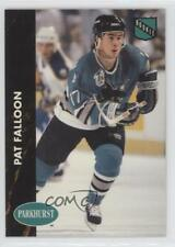 1991-92 Parkhurst #160 Pat Falloon San Jose Sharks Hockey Card