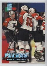 1994-95 Topps Stadium Club Super Redemption Redeemed 17 Philadelphia Flyers Team