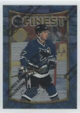 1994-95 Topps Finest Super Teams Stanley Cup 32 Pat Falloon San Jose Sharks Card