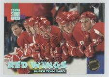 1994 Topps Stadium Club Super Redemption Redeemed #7 Detroit Red Wings Team Card