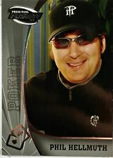 Phil Hellmuth 2009 Press Pass Wheels Main Event Fusion #80 Bronze, Gold or Green