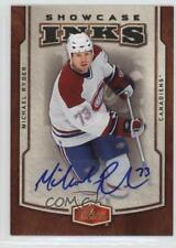 2006 Flair Showcase Inks Autographed #I-RY Michael Ryder Montreal Canadiens Auto