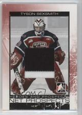 2007-08 In the Game Heroes and Prospects Net Silver #NP-09 Tyson Sexsmith Card