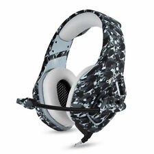 camo-stil Stereo Bass Umrandung Gaming Headset w/ Mikro für PS4 Xbox One PX