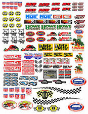 1:18 DECALS FOR DIECAST AND MODEL CARS & DIORAMA AAR SMALL
