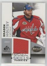 2017-18 Upper Deck SP Game Used NHL All-Star Skills Fabrics #AS-BH Braden Holtby