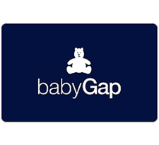 Baby Gap Gift Card $25, $50, or $100 - Fast email delivery