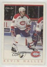 1993-94 O-Pee-Chee Montreal Canadiens Hockey Fest #8 Kevin Haller Card
