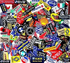 Select Patch Sponsor Racing Car Embroidered Iron On Sew Logo 120 Designs Vintage