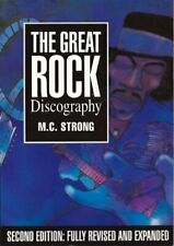 The Great Rock Discography, Strong, Martin, Used; Good Book