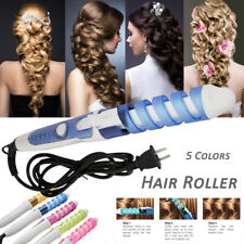 Women Beauty Electric Magic Hair Styling Tool Curler Roller Spiral Curling Wand