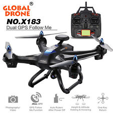 Dual GPS Global Drone With 5GHz WiFi FPV 1080P Camera Brushless RC Quadcopter UD