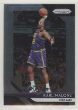 2018-19 Panini Prizm #75 Karl Malone Utah Jazz Basketball Card