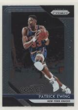2018-19 Panini Prizm #105 Patrick Ewing New York Knicks Basketball Card