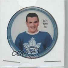 1962-63 Shirriff Coins #16 Dave Keon Toronto Maple Leafs Hockey Card