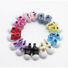 5cm Lightweight Cute Canvas Flat Shoes For Doll Paola Reina/Dolls Shoes