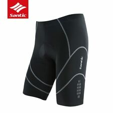 Santic Men 4D Padded Cycling Shorts MTB Road Bike Shockproof Shorts For Outdoor
