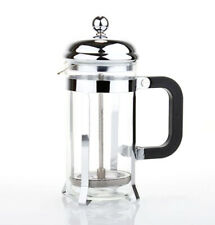1pcs Portable Stainless Steel French Press Coffee Maker Tea Pot Plunger Glass
