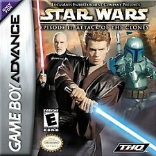 Star Wars: Episode II: Attack of the Clones Nintendo Game Boy Advance, 2002