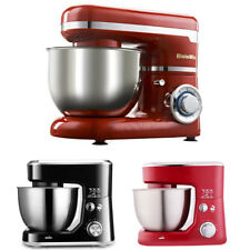 4L Electric Food Stand Mixer With Bowl Dough Hook Titl-Head Whisk Kitchen Tools