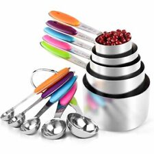 Kitchen Tools Stainless Steel Measuring Cups And Spoons Set Kitchen Accessories