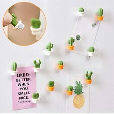 Fridge magnet 2019top 6pcs Cute Succulent Plant Magnet Button Cactus
