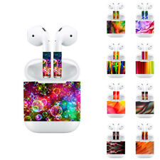 Protective Vinyl Stickers Skin For Apple AirPods 2 1 Adhesive Decorative Films