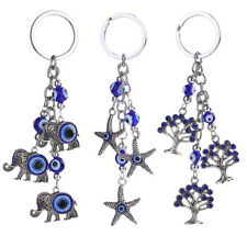 Lucky Cute Animal Eye Alloy Keychain Ornaments Key Bag Car Keyring UK