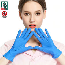 20PCS Nitril Disposable Anti Virus Rubber Protective Hospitl Medical Safe Gloves