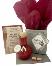 PERSONALISED ENGAGEMENT WISH GIFT CARD PRESENT