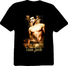 Twilight Saga New Moon Team Jacob T Shirt Black