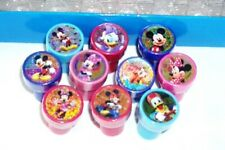12 pcs Cartoon Character Self Inking Stamper Pencil Topper Kids Party Bag Filler