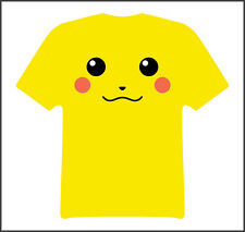 Pikachu pokemon anime funny t shirt Daisy Yellow