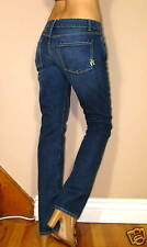 $159 Rich&Skinny Sleek Slender Straight Leg Jeans in Blue Moon Vintg Wash 24 NWT