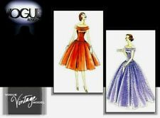 Vogue 1094 Vintage 1955 Misses' Evening Dress Pattern