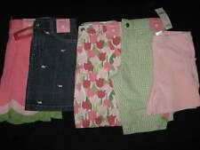 Gymboree TULIP GARDEN Denim Green Pink SKORT or SHORTS
