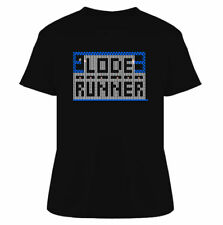 Lode Runner Video Game Retro 80s T Shirt
