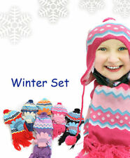 Kid's Peruvian GLOVE, HAT & SCARF SET (WNTSET10)